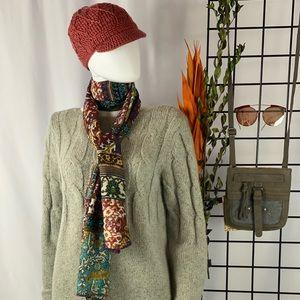 J. Jill Grey Tunic Sweater
